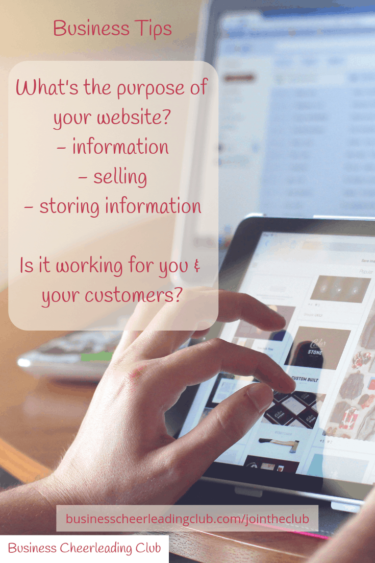 get your website working for your business