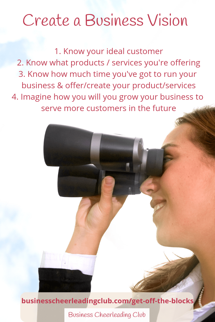 create a business vision