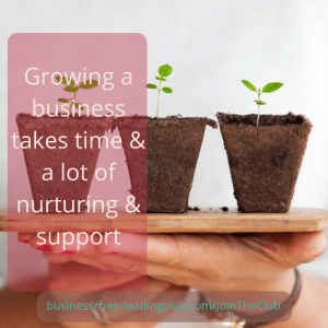 grow a business with support